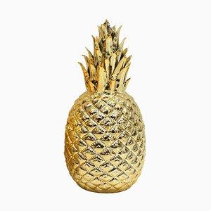 Porcelain Regency Style Golden Decorative Pineapple