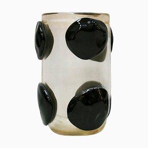 Mid-Century Murano Glass Italian Vase by Costantini