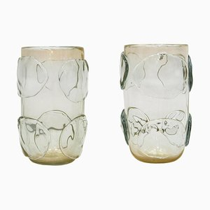 Mid-Century Murano Glass Vases by Costantini, Italy, Set of 2