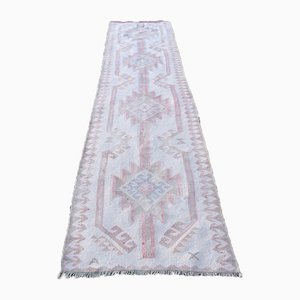 Hand-Knotted Turkish Runner, 1970s