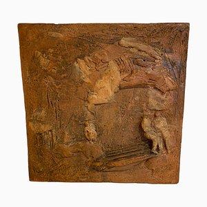 Ceramica a bassorilievo