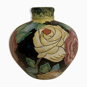 Ball Vase by Charles Catteau for Boch Frères, 1930s