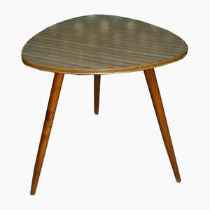 Mid-Century Formica and Teak Side Table