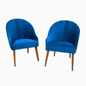 Polish Club Chairs, 1960s, Set of 2