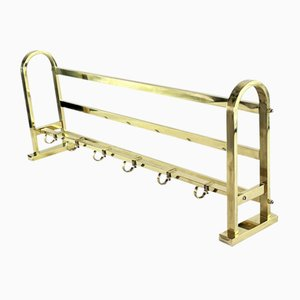 Vintage Art Deco Bauhaus Brass Rack
