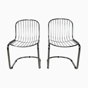 Mid-Century Side Chairs by Gastone Rinaldi for Rima, Set of 2