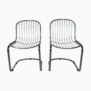 Mid-Century Stühle von Gastone Rinaldi für Rima, 2er Set