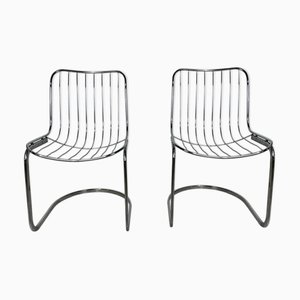 Side Chairs by Gastone Rinaldi for Rima, 1970s, Set of 2