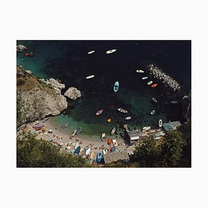 Slim Aarons, Busy Bay, Oversize C Print Framed in White, 1984