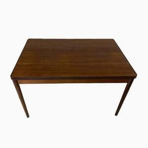 Scandinavian Teak Rectangular Extendable Dining Table, 1950s