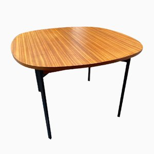 Mid-Century Dining Table with Extension by Pierre Guariche for Les Huchers Minvielle
