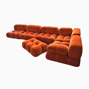 Camaleonda Sofa Set by mario bellini for B&B Italia / C&B Italia, 1973, Set of 6