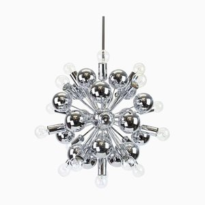 Large Chrome Space Age Sputnik Chandelier from Cosack, 1970s