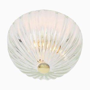Deckenlampe von Carlo Scarpa für Venini, 1950er