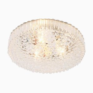 Bubble Glass Flush Mount by Motoko Ishii for Staff, 1970s