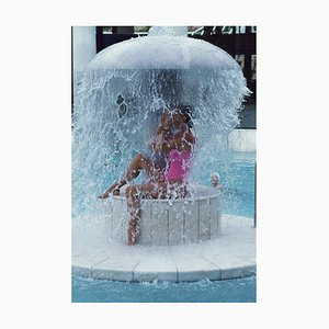 Slim Aarons, Caracalla Therme Oversize C Print Framed in White