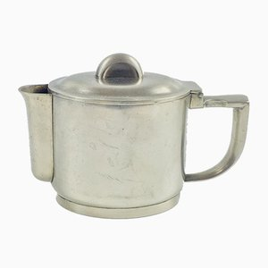 Antique Art Deco Silver Plated Coffee Pot from Berndorf, 1930s