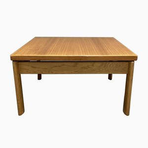 Scandinavian Low Teak Coffee Table, 1950s