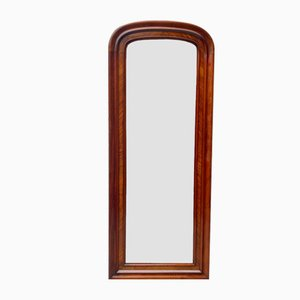 Antique Dressing Mirror with Mahogany Frame