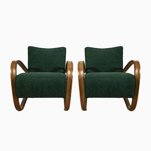 Model H-269 Lounge Chairs by Jindřich Halabala for UP Závody, 1950s, Set of 2