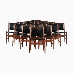 Sedie da pranzo modello JH507 di Hans Wegner per Cabinetmaker Johannes Hansen, set di 16