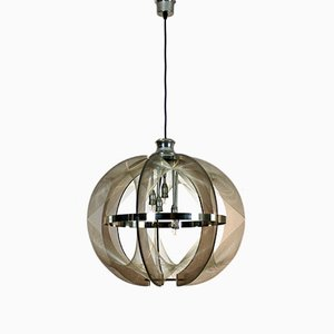 Large Swag Pendant by Paul Secon for Sompex, 1970s