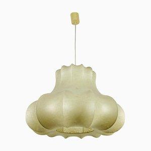 Grande Lampe à Suspension Cocoon, 1960s, Italie