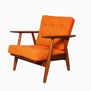 GE-240 Cigar Chair by Hans Wegner for Getama