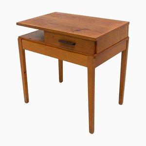 Wooden Side Table, Czechoslovakia, 1970s