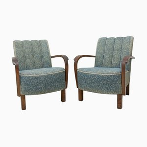 Bentwood Armchairs by Jindřich Halabala for Up Závody, 1930s, Set of 2