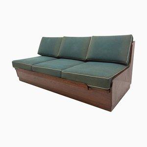 Folding Sofa Bed by Interiér Praha, 1950s, Czechoslovakia