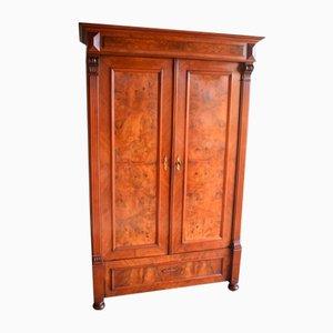 Antique Walnut Cabinet, 1890s