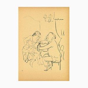 George Grosz, A Drink, 1923