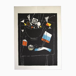 Franco Gentilini, Still Life, Original Offset, 1970s