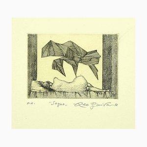 Leo Guide, Dream, Original Radierung auf Papier, 1970er