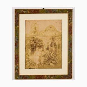 Wilhelm Von Gloeden, N ° 139 Von Gloeden, Taormina Fotografia originale, 1909