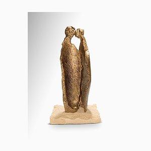 Fero Carletti, Whisper, Original Skulptur aus Metall, 2020