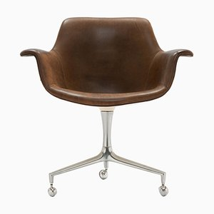 FK 810 Desk Chair by Preben Fabricius and Jørgen Kastholm for Alfred Kill, 1960s