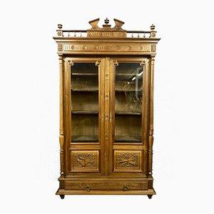 Renaissance Bookcase in Walnut, 1850s