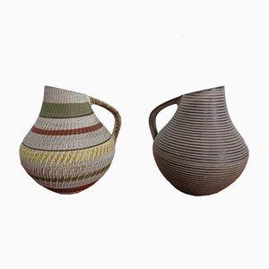 West German Ceramic Pitchers from Dümler & Breiden, 1950s, Set of 2