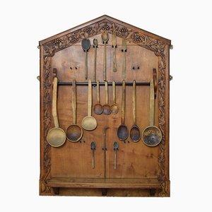Arts and Crafts Kitchen Rack Set by Stanley Webb Davies, 1927