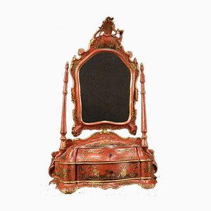 Venetian Lacquered and Gilded Dressing Table, 1920s
