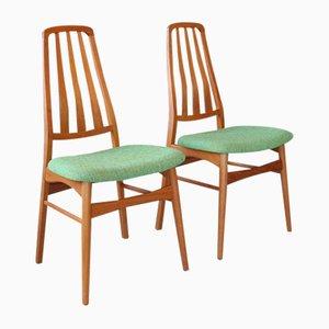 Danish Teak Chairs by Niels Kofoed, Set of 2, 1960s