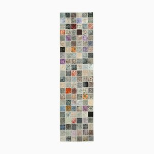 Tappeto multicolore tradizionale color anatolia con lavorazione a mano
