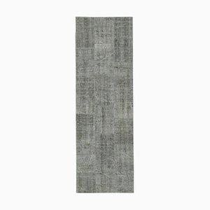 Alfombra de pasillo anatolian de lana tejida a mano