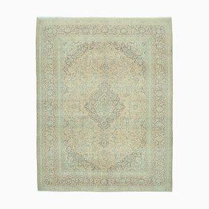 Handgefertigter türkischer Handgeknüpfter Türkischer Vintage Teppich in Beige