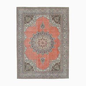 Handgeknüpfter Türkischer Handgeknüpfter Großer Türkischer Vintage Teppich