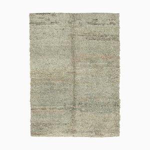Grey Turkish Handmade Wool Flatwave Kilim Carpet