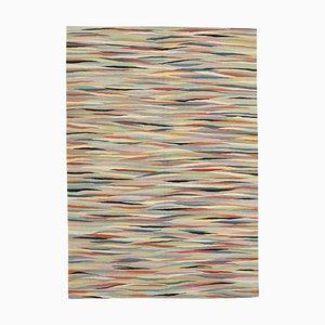 Multicolor Handmade Decorative Wool Flatwave Kilim Carpet