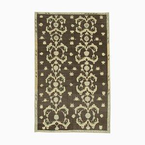 Brown Antique Handwoven Antique Tribal Vintage Carpet